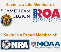 Kevin Ambler is a member of the Military Officers Association of America